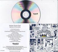 HOOTON TENNIS CLUB BIG BOX OF CHOCOLATES RARE 12 TRACK PROMO CD
