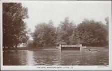 LUTON (Bedfordshire) : The Lake,Wardown Park RP-KINGSBURY PHOTO WORKS