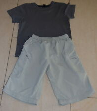 Bermuda DECATHLON 12 ans et Tee-shirt gris Bkool   / 12 ans