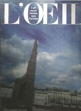 L'OCCHIO N°420-421 - NUMERO SPECIAL - PARIGI CAPITALE DELLA ARTI