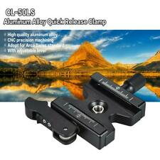 """Quick Release Clamp 1/4"""" to 3/8"""" Adapter Screw Clamp for Arca Swiss Plate Tripod"""
