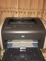 HP Laserjet 1012 Q2461A Laser jet Printer w/Toner/Test Page & Power Cable
