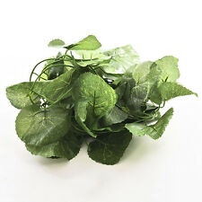 Artificial Plastic Begonia Leaf Garland Plants Vine Foliage Flower Home Decor MW