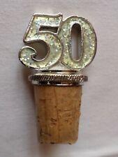 50th CELEBRATION BOTTLE STOPPER/CORK