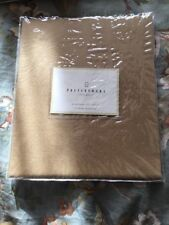 "Pottery Barn SOLID Gold VOILE Panel 44"" W X 84"" L Window Curtain"