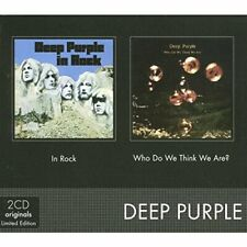 Deep Purple - In Rock/Who Do We Think - Deep Purple CD YAVG The Cheap Fast Free