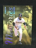 1996 Fleer Golden Memories Insert #2 Barry Bonds AllStar MINT