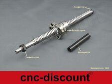 Kugelumlaufspindel  1605 x  200mm komplett  CNC Fräse Spindel Festlager Loslager