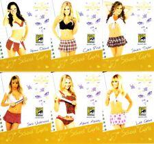 Bench Warmer School Girls 2014 Comic-Con exclusive promo card partial set (6/12)