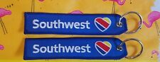 1 Southwest Airlines Heart Logo Remove Before Flight Style Tag Keychain Luggage