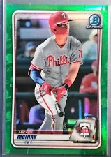 2020 Bowman Chrome Mickey Moniak Green Refractor Parallel Card /99!