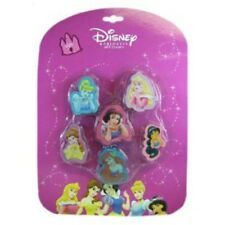 Disney PRINCESS Party Favors Birthday Treats Erasers Gifts Prizes Supply    7-9C