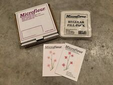 "Microfleur Microwave Flower Press by Beeline 5"" w/ Box, Instructions, Pads"