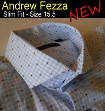 Andrew Fezza - Men's Shirt - Slim Fit - Size 15.5