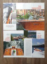 Classic RIVA MOTOSCAFI-magazine articolo principale