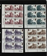 1997 ENSCHEDE CASTLE CYLINDER BLOCK OF6  MARGIN TRAFFIC Light SG1993  - 1996  UM