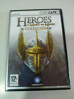 Heroes of Might and Magic Coleccion 4 juegos - Juego para PC DVD-Rom - 3T