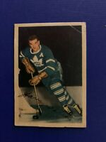 1953-54 Parkhurst #12 Harry Watson Toronto Maple Leafs