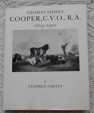 THOMAS SIDNEY COOPER ART BIOGRAPHY BY STEPHEN SARTIN 1976 1ST EDITION