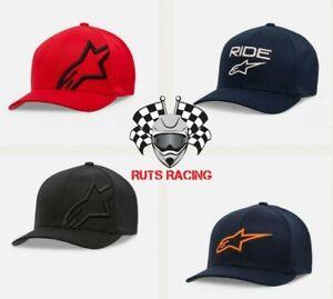 Alpinestars Adult Caps Flexfit MX Caps