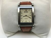 Bernus Men Watch Quartz Japan Movement Analog Brown Leather Band Wrist Watch