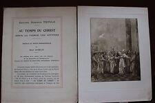 ✒ PROSPECTUS Souscription Giovanni Domenico TIEPOLO Au temps du Christ ca 1900