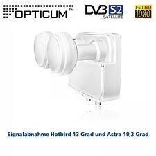 Opticum Monoblock Twin LNB LMTP-04H Astra-Hotbird