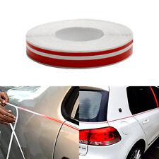 Red Car Body Decal Striping Pin Stripe Steamline Double Line Tape Vinyl Sticker