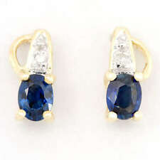 Handmade Not Enhanced Sapphire Fine Earrings