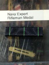 US Navy Expert Rifle Shot Medal Ribbon Slide On