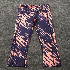 THE NORTH FACE Athletic Leggings Active Pants Size Small Women's All Over Print
