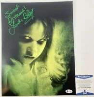 Linda Blair Autographed The Exorcist Regan MacNeil 11x14 Photo Signed Beckett CO
