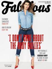Fabulous Magazine Rebekah Vardy Photo Interview 25/6/2017 New Bagged