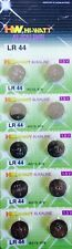 10 X LR44 AG13 A76 675 1166A L1154 ALKALINE BUTTON BATTERY BATTERIES 1.5V