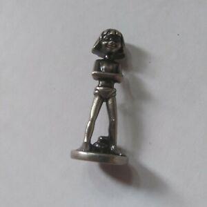 Mowgli Disney Monopoly Game Replacement Piece Metal Pewter Token