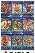 2006 AFL Teamcoach Tradinging Card Blue Foil Platinum Team Set Adelaide (10)