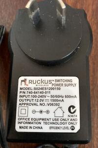 Ruckus Power Adapter For AP  - Qty 8 (12V - 1500mA)