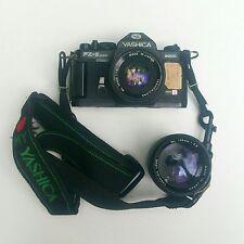 Macchina fotografica professionale Yashica FX3 Super 2000 con 2 obiettivi
