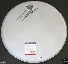 "SLASH Signed 16"" Drum Head Auto GNR PSA/DNA Certified Autograph Guns N' Roses"