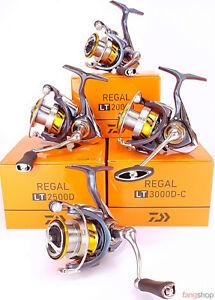 DAIWA REGAL LT 1000D 2000D 2500D 3000D-C Spinn Angelrolle NEU stationär Front
