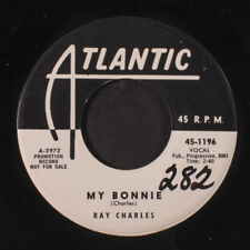RAY CHARLES: My Bonnie / You Be My Baby 45 (dj, close to M-, wol) Blues & R&B
