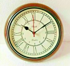 Antique Vintage Wooden 10 inch Wall Clock Smith London