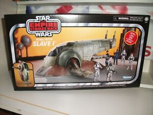 Star wars Vintage Collection SLAVE 1 NEW IN NON MINT BOX hasbro MARKED BOX !!!!