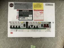 Wylex Skeleton fuse-box 10 Way Main Switch, Dual RCD & breakers #I53