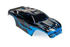 Custom Body Muddy Blue for Traxxas Rustler 2WD 1/10 Truck Car Shell Cover