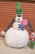 "Disney The Nightmare Before Christmas dancing musical Snow Jack Plush 13"" NEW!!!"