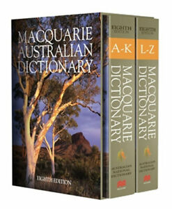 NEW Macquarie Dictionary Eighth Edition By Macquarie Dictionary Hardcover