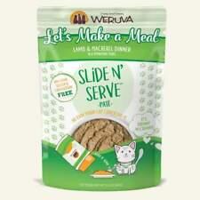 7 Ct Weruva Cat Slide & Serve Pouch Lamb & Mackerel Dinner, 5.5Oz Exp:03/20/20