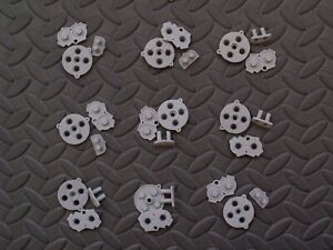 9 Sets GBA Conductive RUBBER PADS For Nintendo Game Boy Advance Start Select