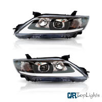 LED Chrome Housing DRL Headlights Fit For TOYOTA CAMRY 2010-2011 SEDAN Assembly